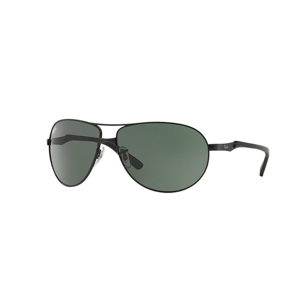 ff512cf00c Shop Ray-Ban RB3393 006 71 Unisex Matte Black Frame Green Classic Lens  Sunglasses - Free Shipping Today - Overstock - 15002668