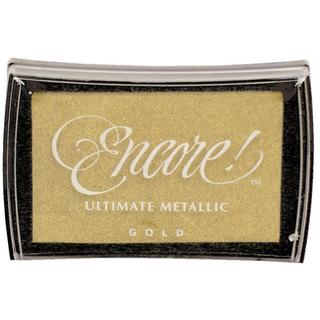 Encore! Ultimate Metallic Ink Pad Gold