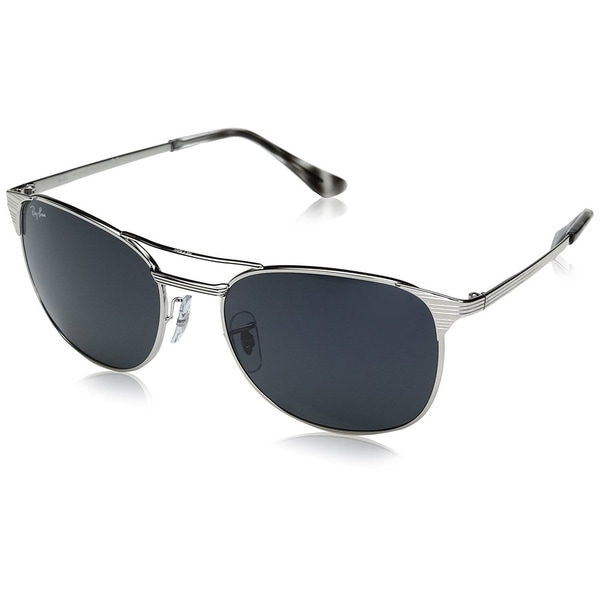 db1ba8a5cc Shop Ray-Ban RB3429M 003 R5 Men s Silver Frame Blue Grey Classic ...