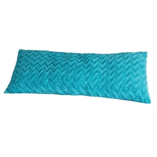 Aqua Plush Body Pillow