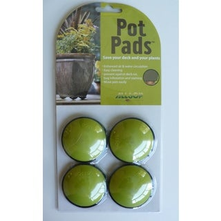 Allsop Lime Green Pot Pads (Pack of 4)