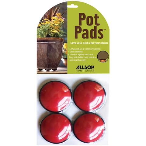 Allsop Pot Pads Cherry Planter Pads (Pack of 4)
