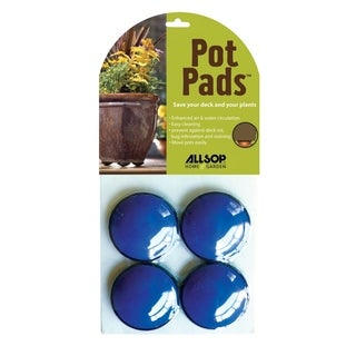 Allsop Cobalt Blue Pot Pads (Pack of 4)