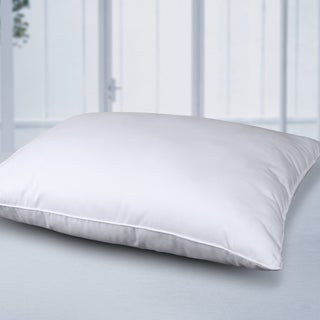 CottonLux 500 Thread Count Feather Core and Cotton Filled Bed Pillow