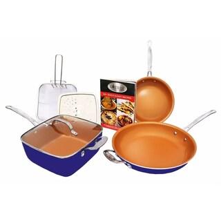Gotham Steel Pantastic 7 Piece Cookware Set Non-stick Ti Cerama