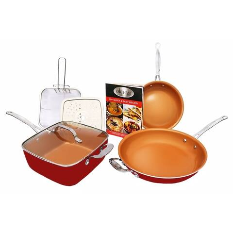 Gotham Steel Pantastic 7 Piece Set Non-stick Ti Cerama