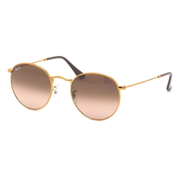 a55389d28ceff Ray-Ban RB3447 9001A5 Unisex Round Bronze-Copper Frame Pink Brown Gradient  Lens