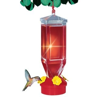 Perky Pet 18 Oz Capacity Lantern Design Hummingbird Feeder