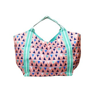 All for Color Sand Castles Beach Tote Bag
