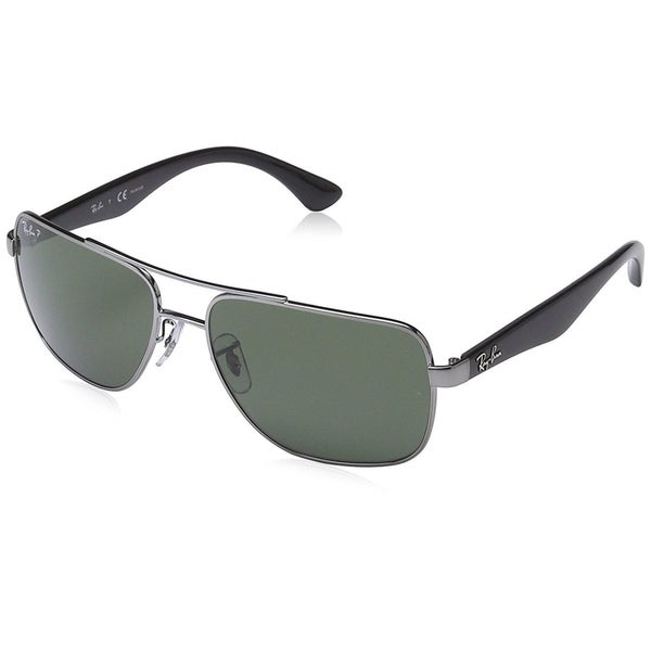 3ac1101d6b9 Shop Ray-Ban RB3483 004 58 Men s Gunmetal Black Frame Polarized ...