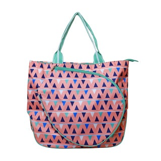 All for Color Sand Castles Multicolored Tennis Tote Bag