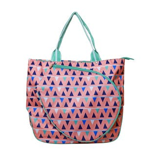 All for Color Sand Castles Multicolored Tennis Tote Bag|https://ak1.ostkcdn.com/images/products/15003019/P21501981.jpg?impolicy=medium