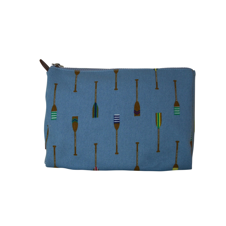 Sloane Ranger Blue Oars Cosmetic Toiletry Bag (Oars)