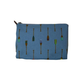Sloane Ranger Blue Oars Cosmetic Toiletry Bag