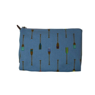Sloane Ranger Blue Oars Cosmetic Toiletry Bag