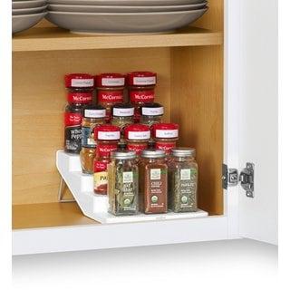 YouCopia SpiceSteps 4-Tier 12-bottle Cabinet Spice Rack Organizer