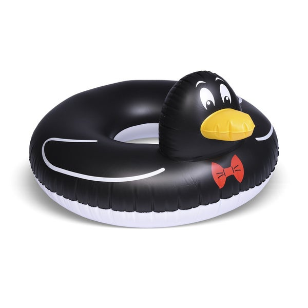 GoFloats Penguin Party Tube Inflatable Raft