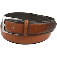 Florsheim Men's Brown Leather Belt