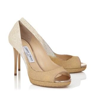 Jimmy Choo Luna Ombre Glitter Shoe