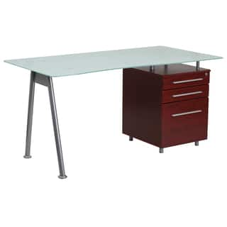 Janyn Glass-top 3-drawer Pedestal Computer Desk|https://ak1.ostkcdn.com/images/products/15003383/P21502315.jpg?impolicy=medium