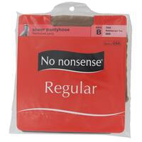 No Nonsense 013/9B Regular Tan Nylons