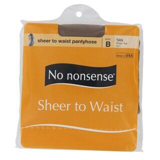 No Nonsense 023/21B Tan Sheer To Waist Nylons