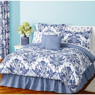Provence Blue 8-Piece Bed in a Bag Comforter Set
