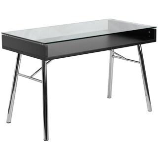 Rokus Brettford Tempered Glass Top Desk