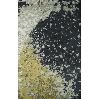 Momeni Zen Green Hand-Tufted Wool and Viscose Rug - 8' x 11'