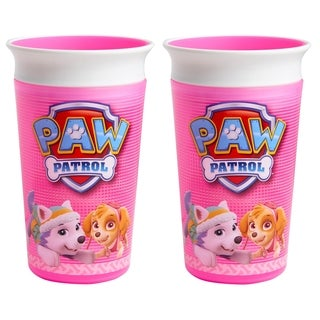 Munchkin Paw Patrol 9-ounce Girls' Miracle Cup (Set of 2)