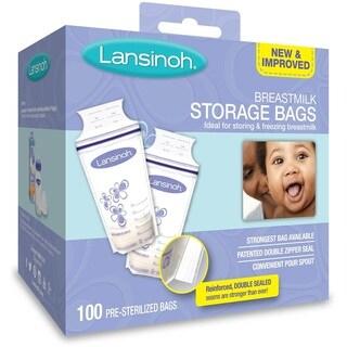 Lansinoh Breastmilk Storage Bags (100 Count)