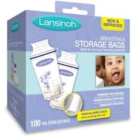 Lansinoh Breastmilk Storage Bags (100 Count)