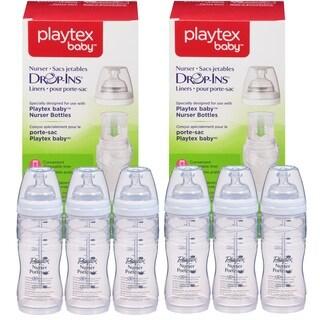 Playtex Premium 6-count Nurser with 200 Drop-Ins Bottle Liners