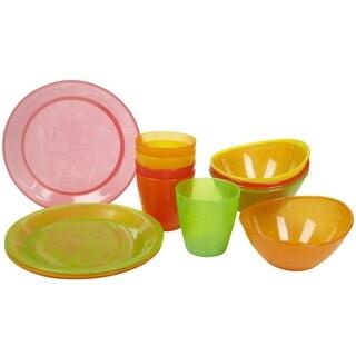 Munchkin Multicolor Plastic 15-piece Feeding Set