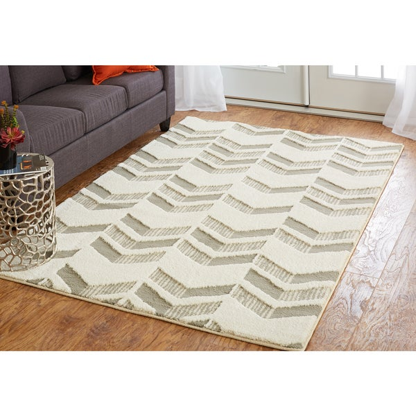 mohawk home loft chevron arrow area rug 5u0027 - Mohawk Area Rugs