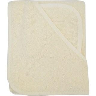 American Baby Company Ecru Organic Cotton Hooded Towel Set