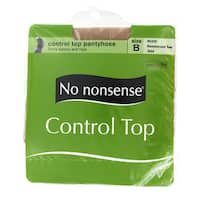No Nonsense 43044 Nude Control Top Nylons