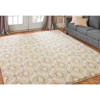 Mohawk Home Laguna Sketched Ogee Area Rug (8'x10')