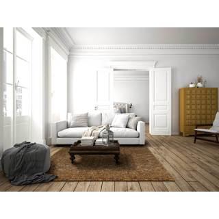 Woven Teak Floor Rug (5' x 8')