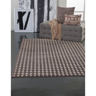 "Vera Charcoal/Grey/Ivory Area Rug by Greyson Living - 5'3"" x 7'9"""