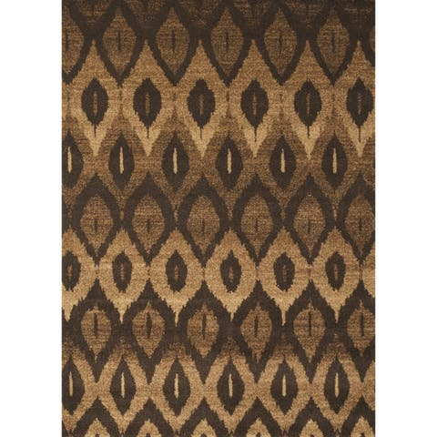 """Marcel Brown Area Rug by Greyson Living - 5'3"""" x 7'9"""""""