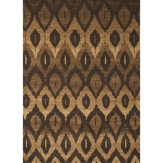 Marcel Brown Area Rug by Greyson Living (5'3 x 7'6)