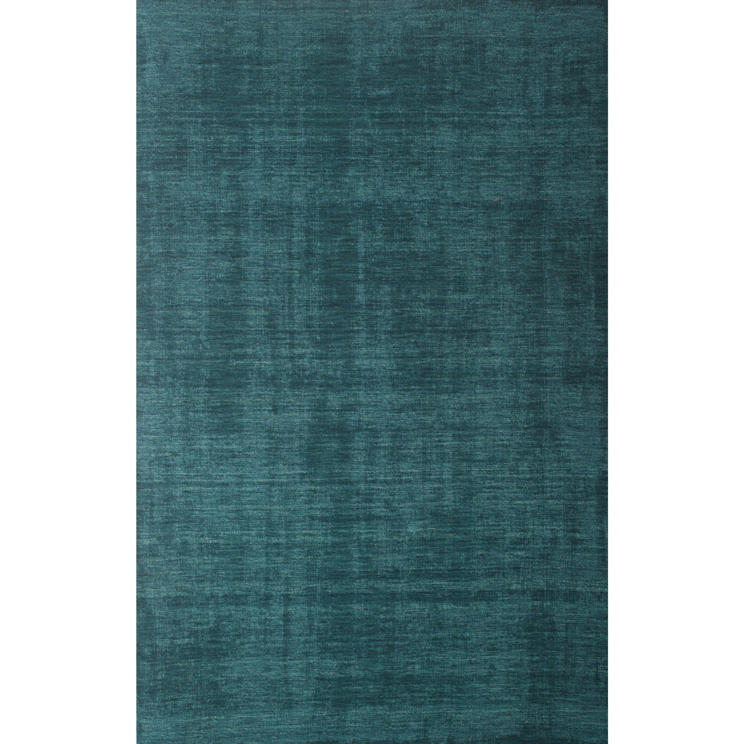 Bradley Teal Area Rug By Greyson Living (5' x 8') (Bradle...