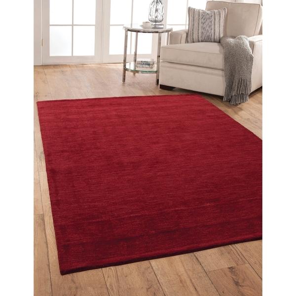 Bradley Red Area Rug By Greyson Living - 5' x 8'