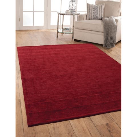 Bradley Red Area Rug By Greyson Living - 5' x 8'