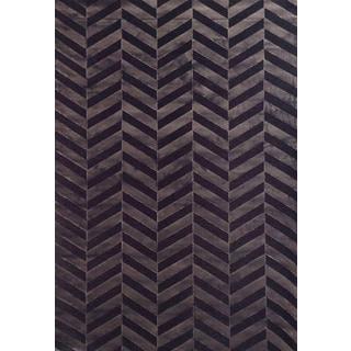 Zenda Chocolate Area Rug by Greyson Living (5'3 x 7'6)