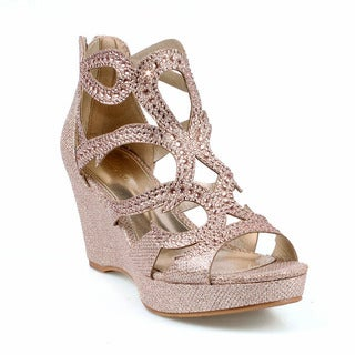 Celeste Hedy-05 Women's Wedge Party Sandals