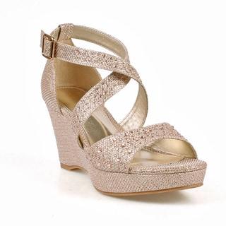 Celeste Hedy-06 Women's Wedge Party Sandals