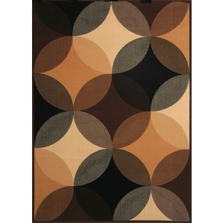 Gisela Beige/Black/Grey Area Rug by Greyson Living (7'9 x 10'6)