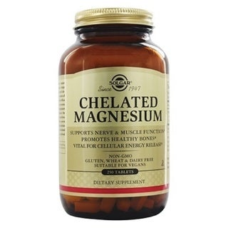 Solgar Chelated Magnesium (250 Tablets)